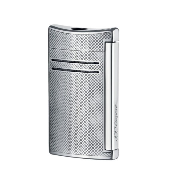 Briquet Maxijet Chrome Gun Metal