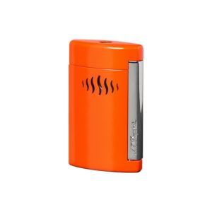 Briquet Minijet Chrome Corail