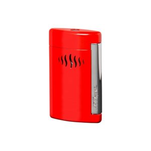 Briquet Minijet Chrome Rouge