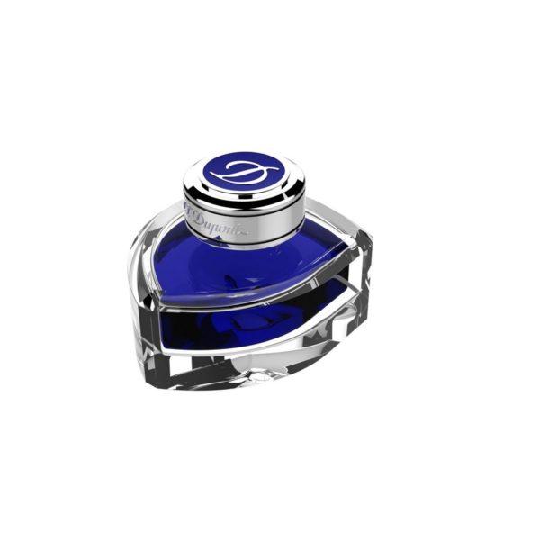 Encre En Flacon Bleu Royal