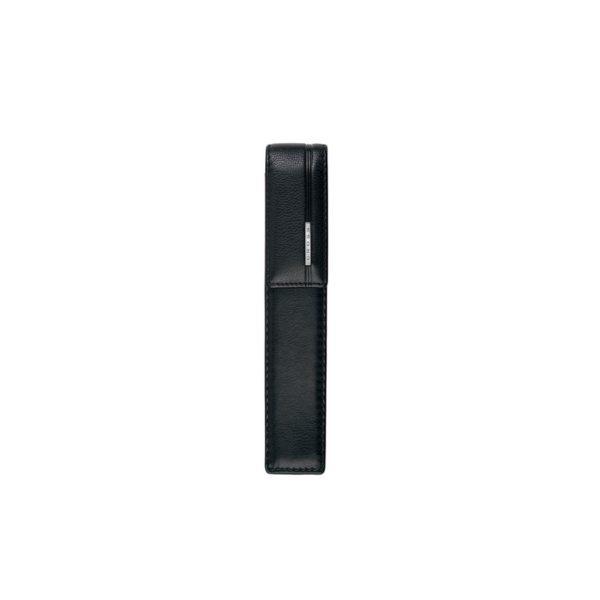 Etui 2 stylo Noir