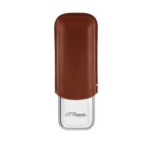 Etui a Cigares Double Marron