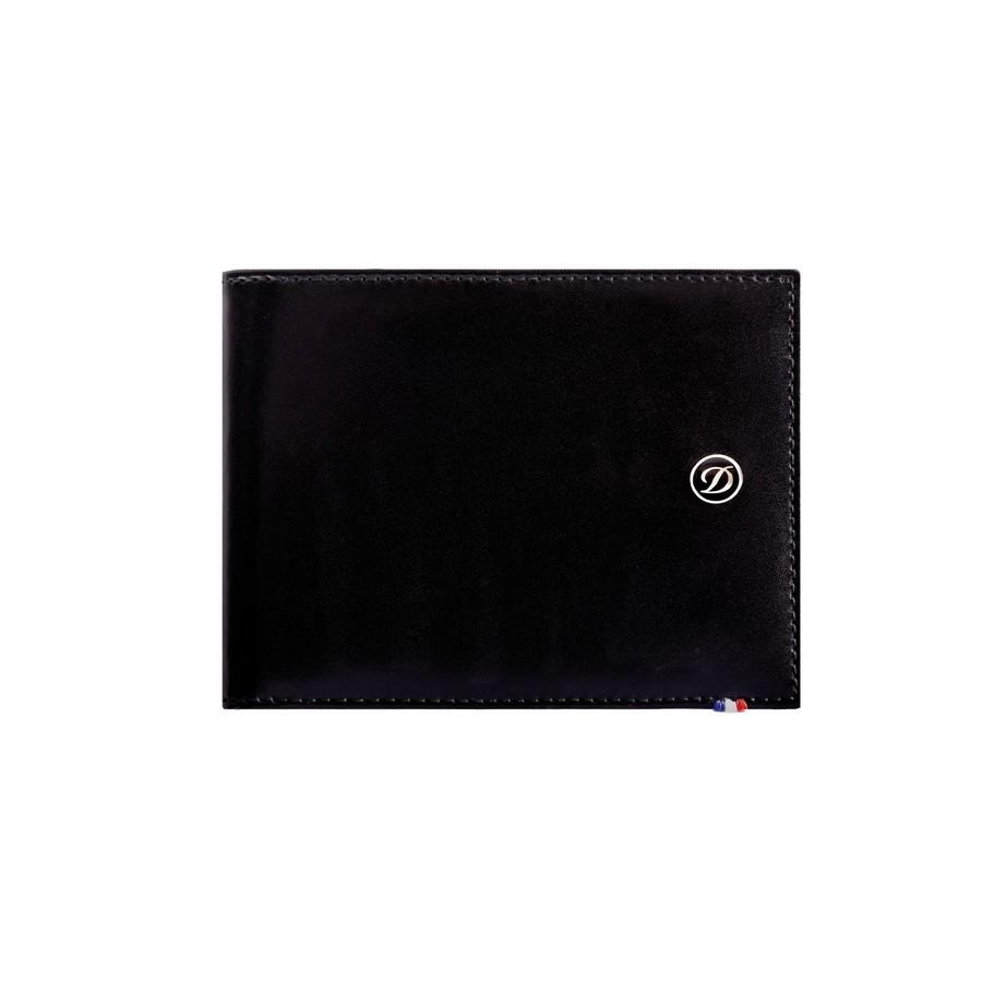 porte billets 6 cartes cuir porte cartes s t dupont