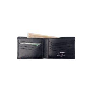 Porte Billets  Cartes De Credit Et Papiers DIdentite Cuir Carbone Noir