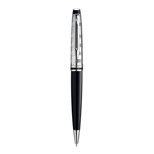 Stylo Bille Waterman Expert Deluxe Laque Noir Ct