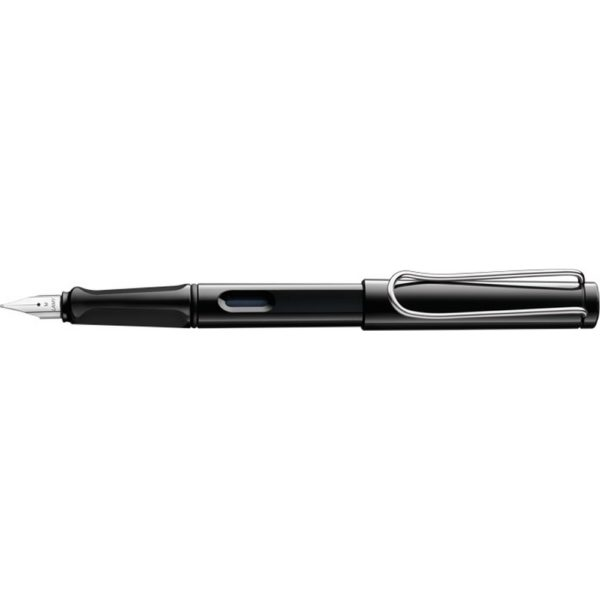 Stylo Plume Safari Noir Brillant
