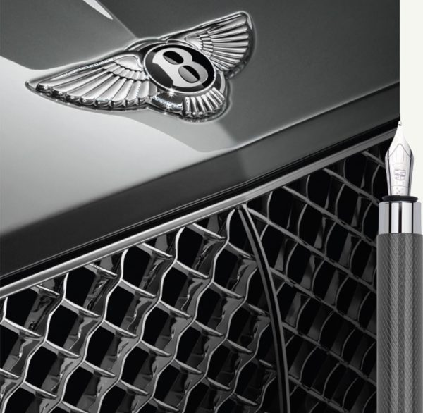 stylo bentley gris