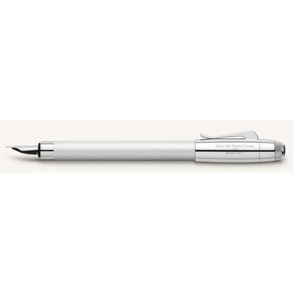 stylo plume bentley blanc