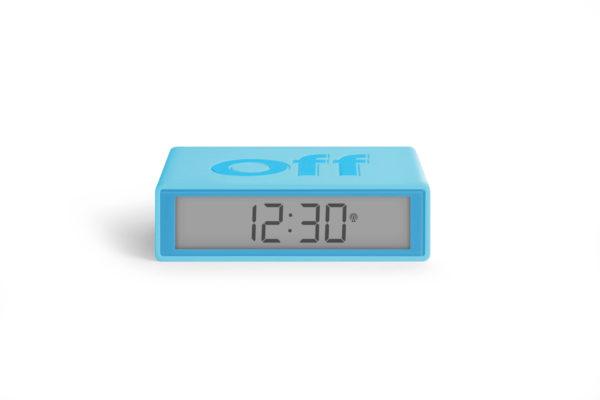 Réveil flip turquoise