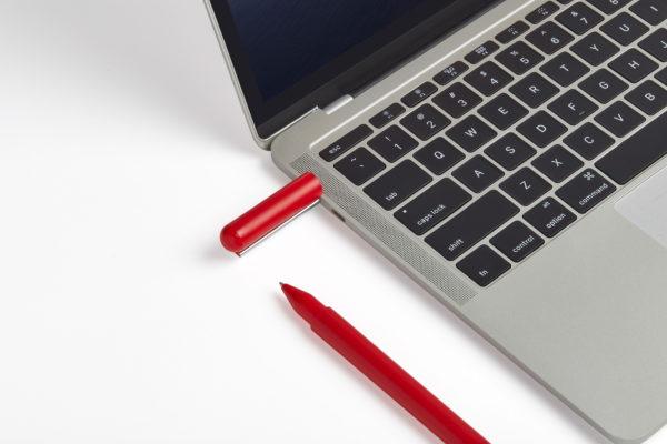 Stylo USB Rouge
