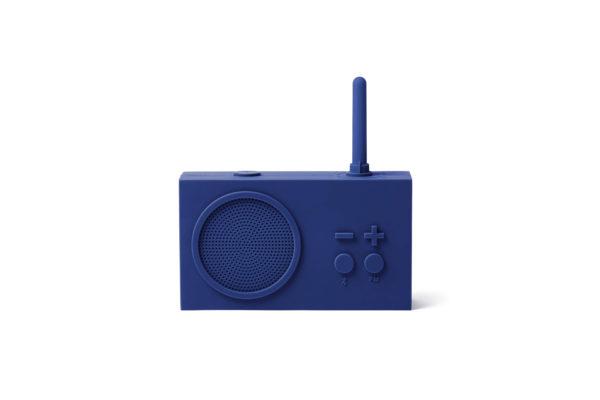 Tykho 3 Radio Enceinte bleu fonce