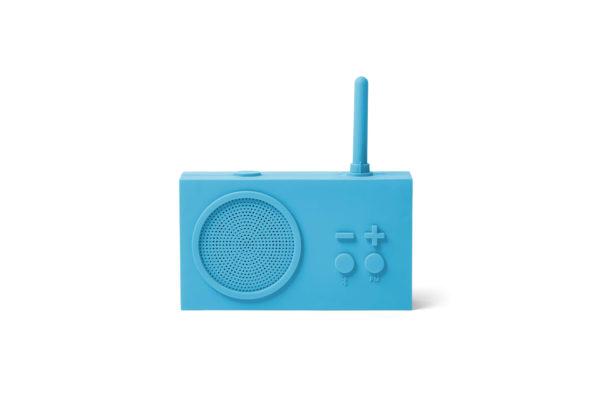 Tykho 3 Radio Enceinte bleu turquoise
