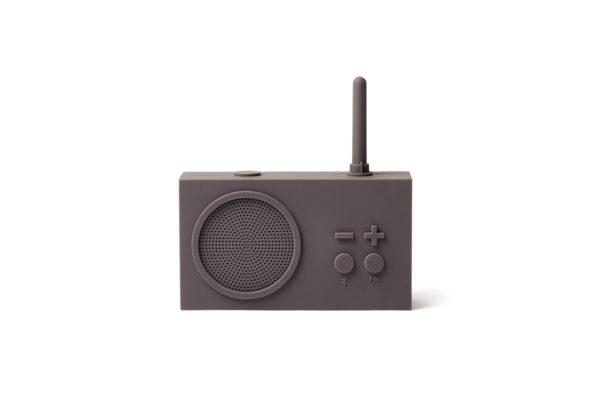 Tykho 3 Radio Enceinte gris